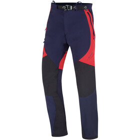 Directalpine Cascade Plus Pants Men, blauw/rood